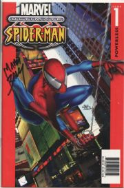 Ultimate Spider-man #1 KB Dynamic Forces DF Signed Mark Bagley COA